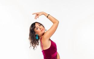 Tina Gorenjak spet pleše