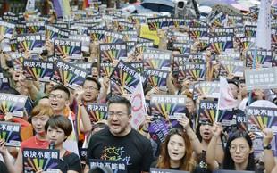 Tajvan postal prva azijska država s pravico homoseksualcev do poroke