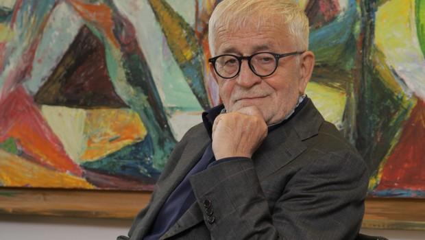 Dr. Peter Čeferin o romanu Sodni dnevi (foto: Aleksandra Saša Prelesnik)