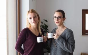 Nina Majcen in Urška Golob (blagovna znamka Cuckoo Cups): Ko dobra ideja postane uspešen projekt