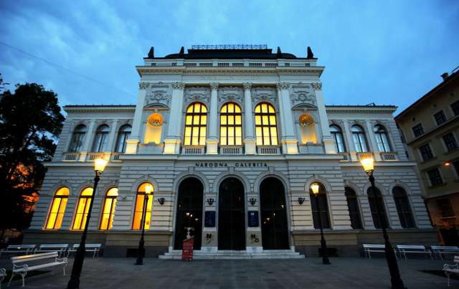 V Narodni galeriji bodo podelili Valvasorjeva odličja (foto: Daniel Novakovič/STA)