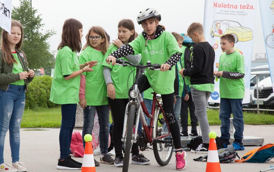 Prikolesarili do finala Varno na kolesu (foto: Varni na kolesu PRESS)