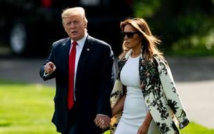 Donald Trump je zaradi orkana odpovedal obisk Poljske