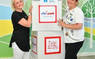 Citypark v dobrodelni namen podaril več kot sto igrač
