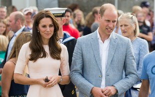 William in Kate zaradi načina potovanja spravila Meghan in Harryja v zadrego