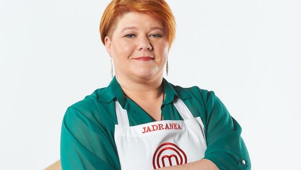 LJUBEZEN DO SLAŠČIC Jadranka Baraga svoje kuharske veščine predstavlja v oddaji MasterChef. (foto: Foto: Tomo Jesenicnik, Arhiv Pop Tv)