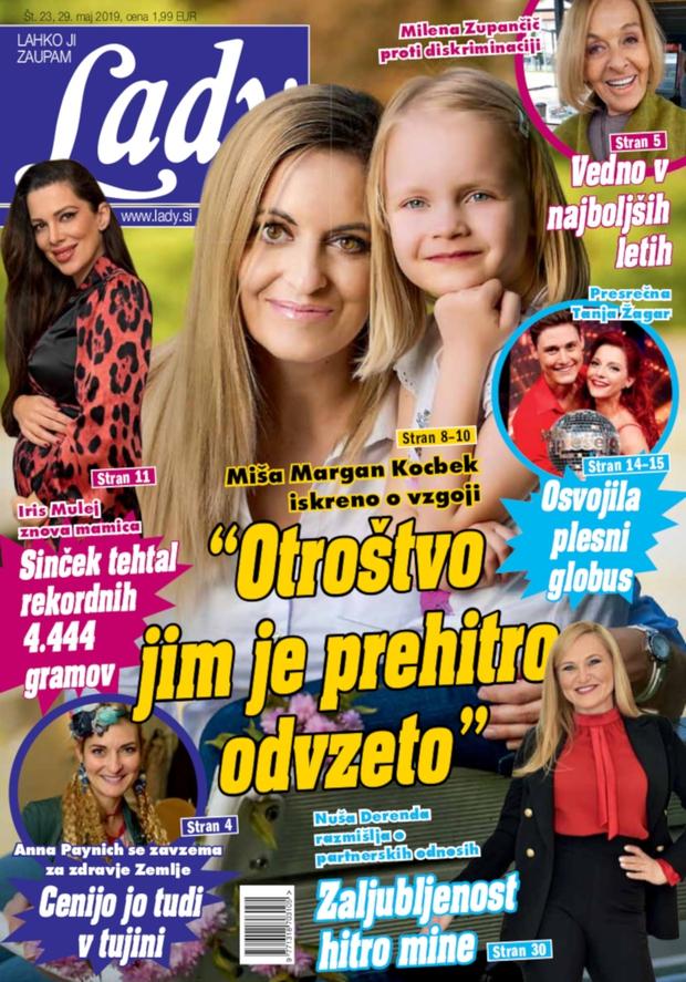 """Miša Margan Kocbek: """"Otroštvo jim je prehitro odvzeto."""" (foto: Lady)"""