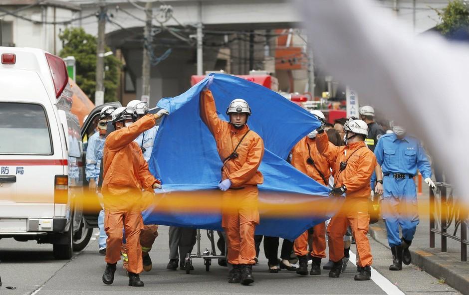 Tokio: Moški z nožem napadel skupino ljudi - 2 mrtva, 20 ranjenih (foto: Profimedia)