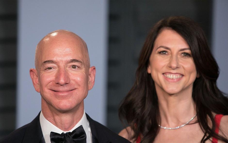 Bivša žena Jeffa Bezosa, najbogatejšega Zemljana, bo razdala večji del svojega premoženja (foto: Profimedia)