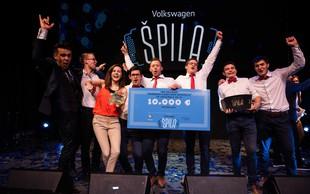 Volkswagen Špila: Denar so razdelili med finaliste