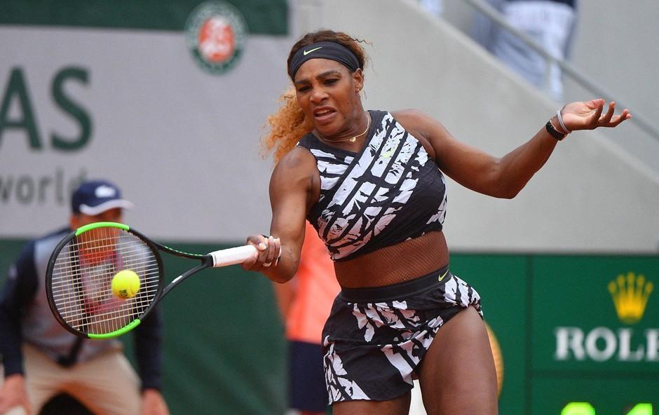 Tako izklesane trebušne mišice ima Serena Williams po porodu (foto: Profimedia)