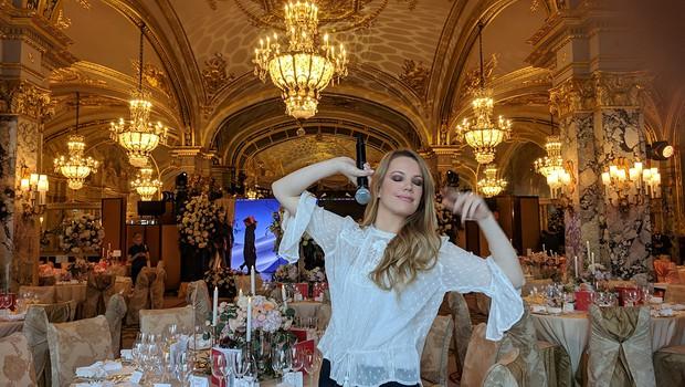 Ana Soklič kot princesa blestela v Monaku (foto: Ana Soklič Press)