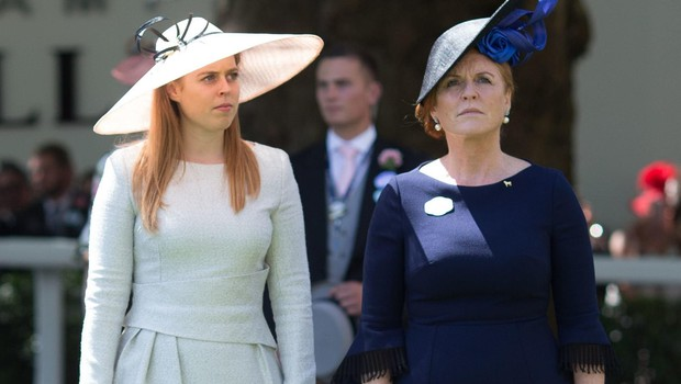 Princess Beatrice and Sarah Ferguson Duchess of York Royal Ascot, Day Four, UK - 22 Jun 2018, Image: 375712545, License: Rights-managed, Restrictions:, Model Release: no, Credit line: Profimedia, TEMP Rex Features (foto: Profimedia Profimedia, Temp Rex Features)