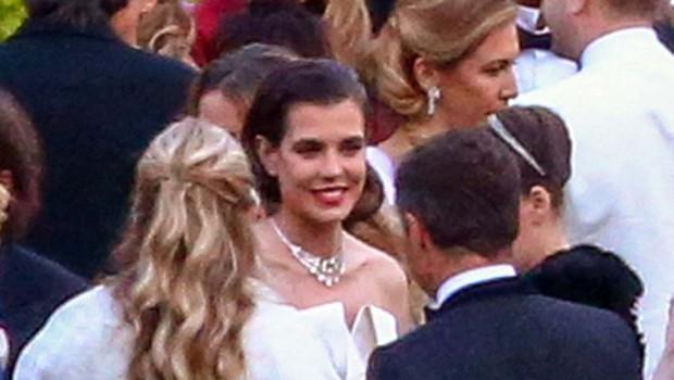 Charlotte Casiraghise je poročila s producentom Malega princa (foto: profimedia)
