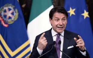 V Italiji še brez odločitve glede datuma razprave o nezaupnici Conteju