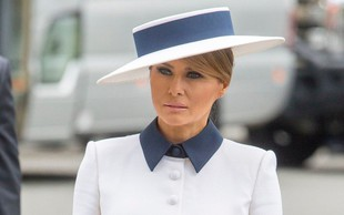 Melania Trump se je s to obleko poklonila spominu na princeso Diano