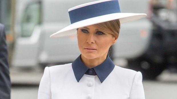 Melania Trump se je s to obleko poklonila spominu na princeso Diano (foto: Profimedia)