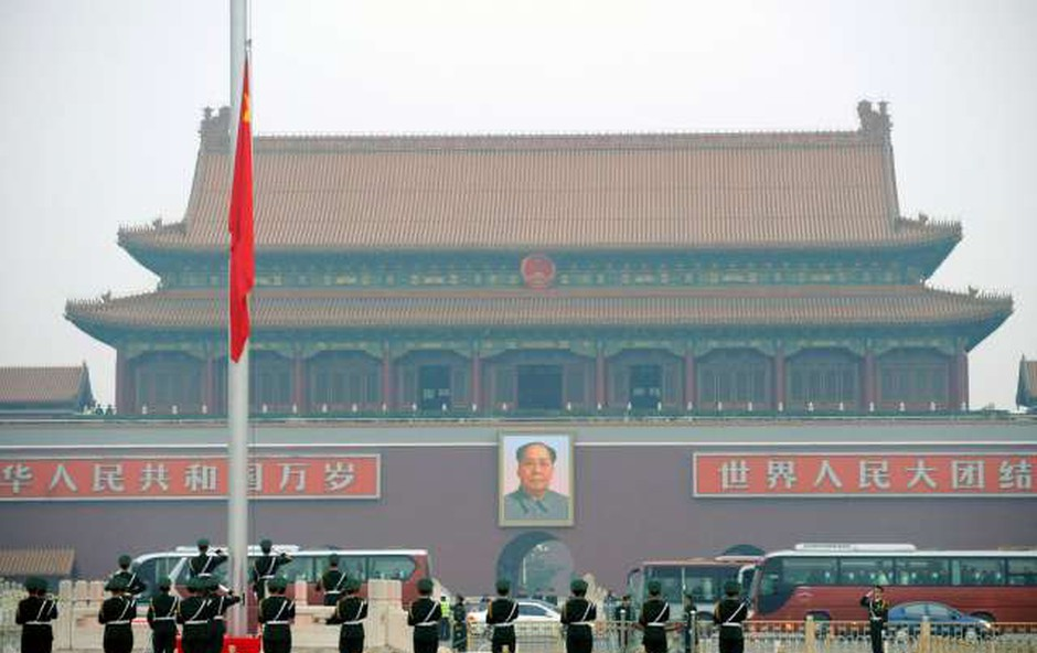 30 let od pokola na pekinškem Trgu nebeškega miru (foto: Xinhua/STA)