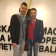 Damir Kovačić se vedno znova in znova rad vrača v Skopje