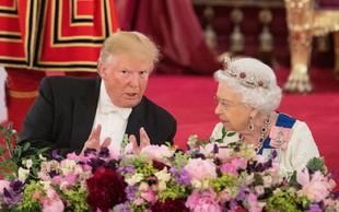 Trump je na večerjo s kraljico pripeljal še svoje štiri odrasle otroke