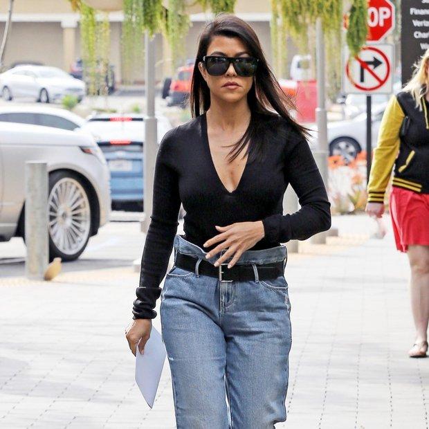 Kourtney Kardashian (Fotogalerija): Stari dobri džins