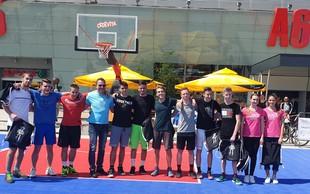 Dobrodelni košarkarski turnirZATO! igram košarko