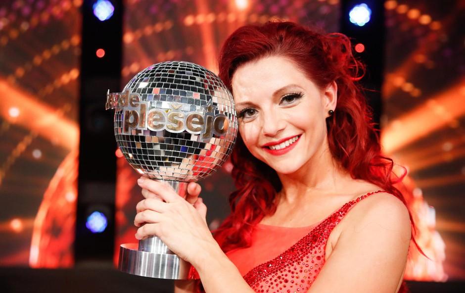 Številni so rekli, da je <br />tudi v plesu prava <br />profesionalka! (foto: Miro Majcen)
