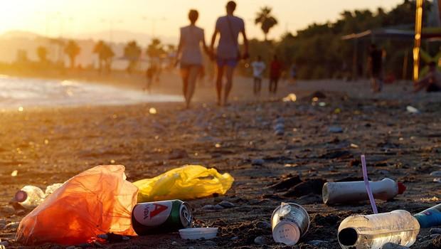 Sredozemske države s plastičnimi odpadki po mačehovsko v morje! (foto: WWF Press/Miloš Bičanski)