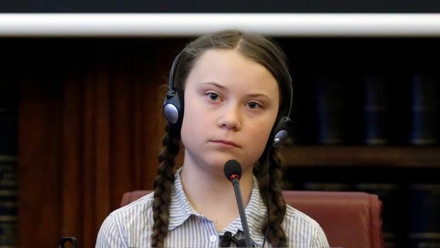 S koronavirusom je zelo verjetno okužena tudi Greta Thunberg (foto: Profimedia)