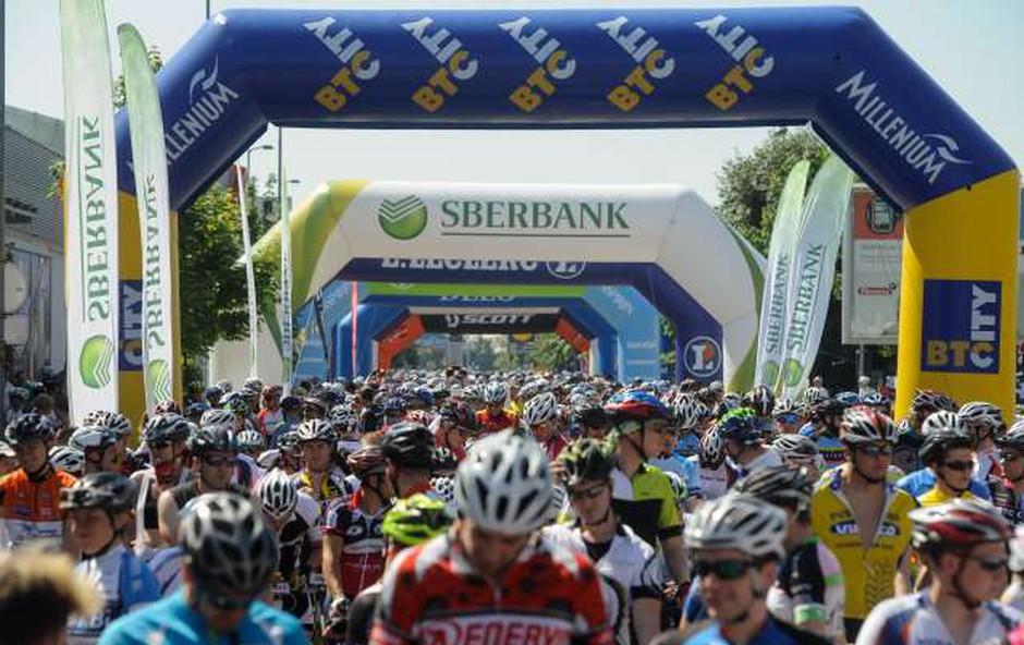 Ljubljana bo tri dni v znamenju maratona Franja (foto: STA/Nebojša Tejić)