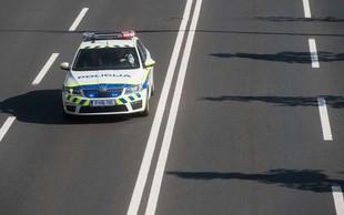 Murska Sobota: Pri begu pred policisti povzročil prometno nesrečo!