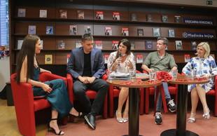 Znani so promovirali branje knjig, piar je pomemben, Tanja Skaza je ob knjigi tudi jokala