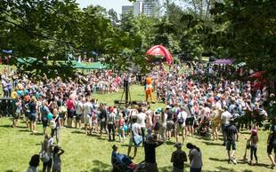 Čarobna nedelja v Tivoliju: Več kot 20 tisoč obiskovalcev uživalo v poletnem vzdušju!