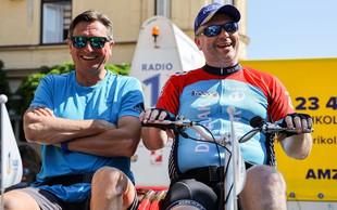 Predsednik Borut Pahor presenetil ganjenega Deželaka
