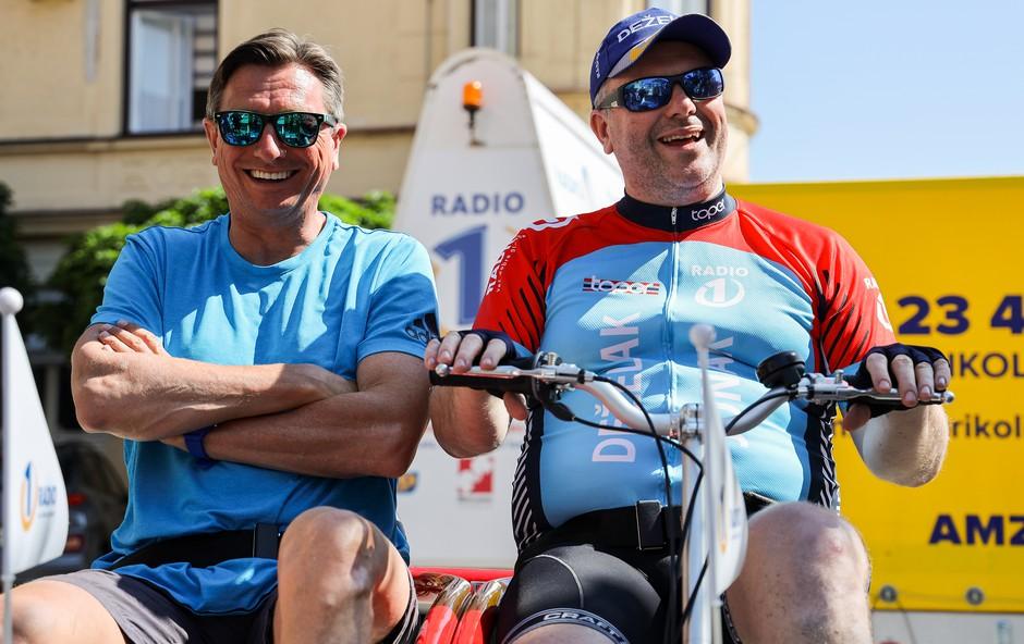 Predsednik Borut Pahor presenetil ganjenega Deželaka (foto: Darja Štravs Tisu)