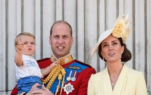 Princ Louis, sin vojvodinje Kate in princa Williama, je ukradel vso pozornost!
