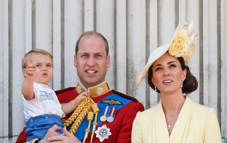 Princ Louis, sin vojvodinje Kate in princa Williama, je ukradel vso pozornost! (foto: Profimedia)