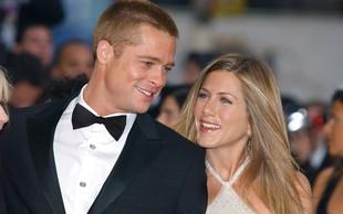 Bo Brad Pitt božič preživel z Jennifer Aniston?