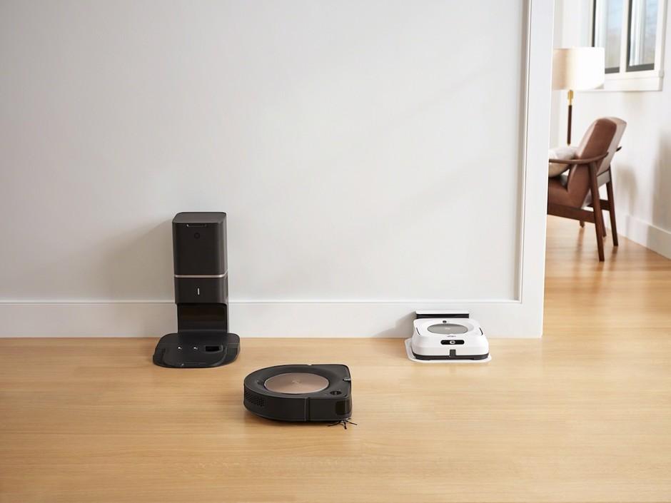 Prihodnost čiščenja z najnaprednejšima robotoma, sesalnikom in čistilcem tal iRobot (foto: iRobot Roomba Press)