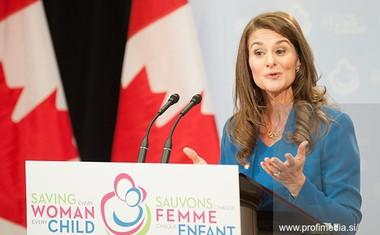 Glasnica pogumnih žensk Melinda Gates z ganljivim knjižnim manifestom Trenutek dviga!
