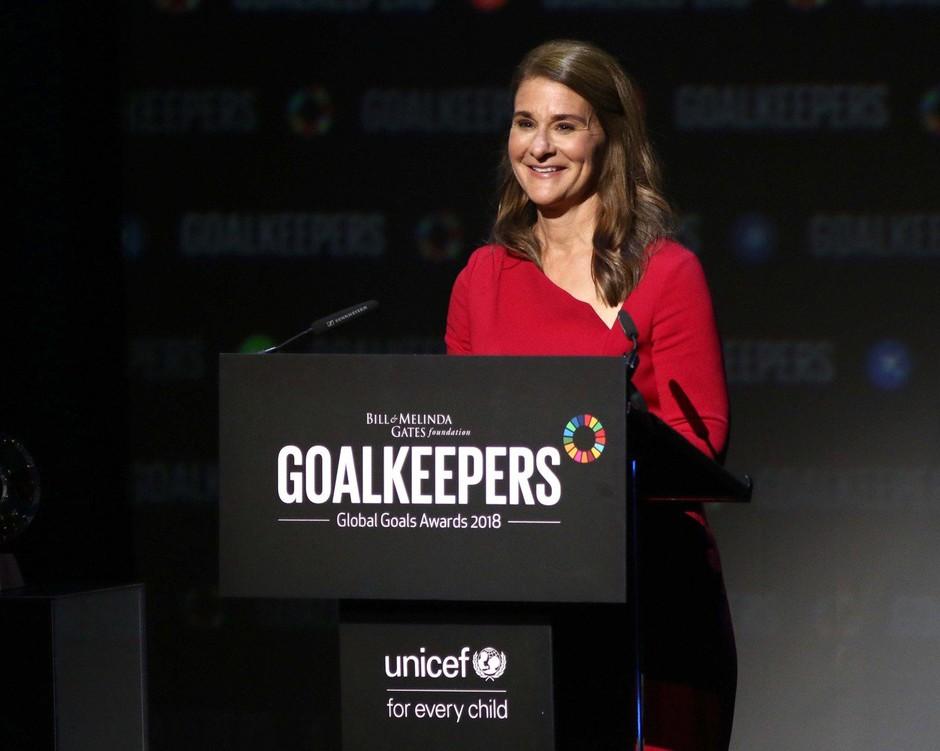 Glasnica pogumnih žensk Melinda Gates z ganljivim knjižnim manifestom Trenutek dviga! (foto: profimedia)
