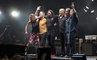 V Pulju zvečer prvi koncert zasedbe Foo Fighters