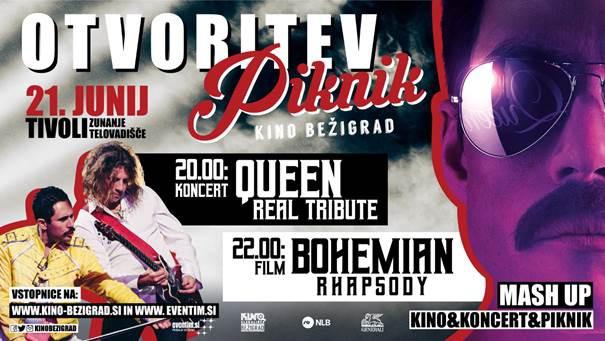 Otvoritev Piknik kina Bežigrad tokrat z ekskluzivnim dogodkom (foto: Piknik Kino Press)