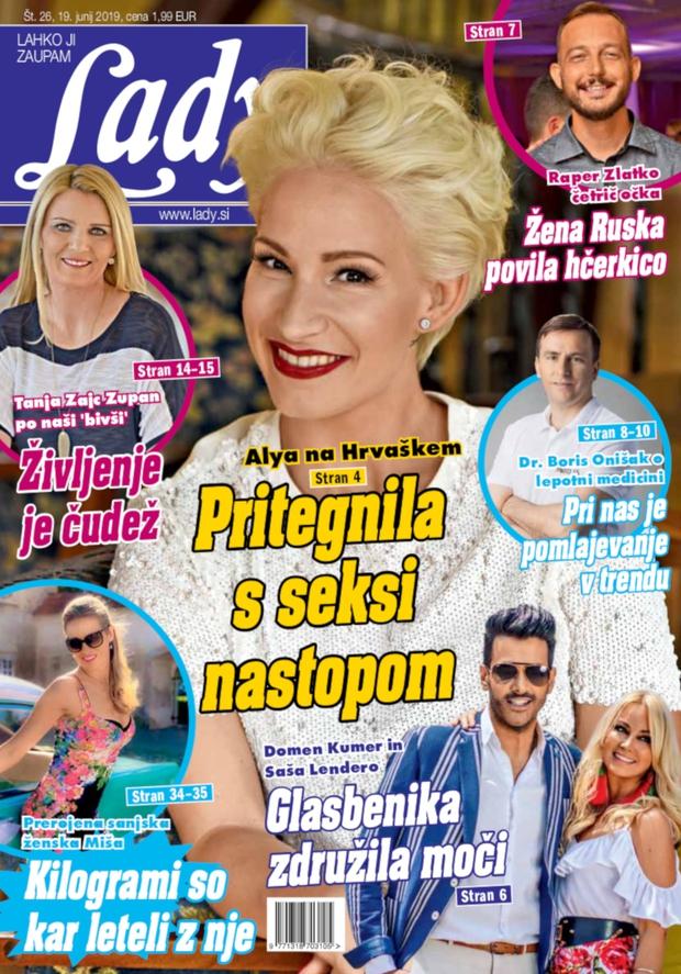 Alya na Hrvaškem: Pritegnila s seksi nastopom (foto: Lady)