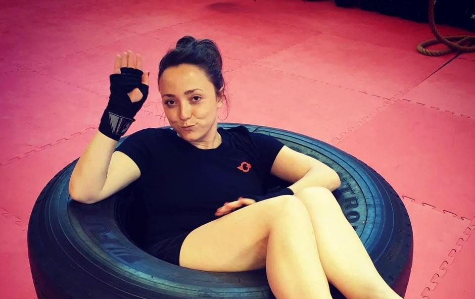 Anja Ramšak je izvala Denisa Avdića! (foto: Osebni Arhiv)