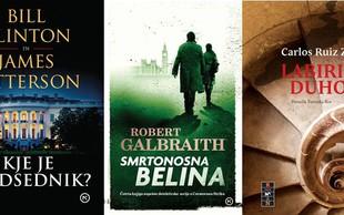 3 knjižne novosti za tiste, ki ljubijo napeta poletna branja!