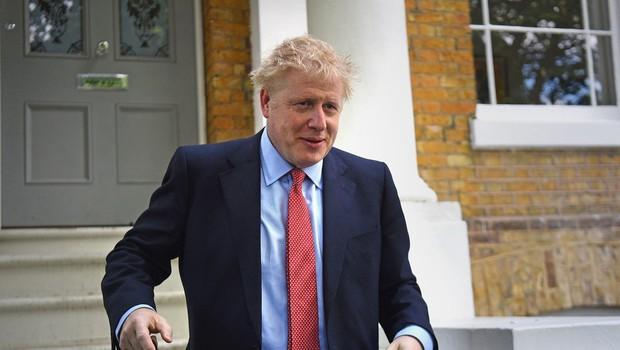 Po prijavi soseda je policija posredovala na domu Borisa Johnsona (foto: profimedia)