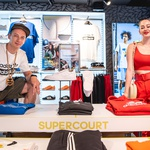 Kultni adidasov copat Supercourt v prenovljeni podobi (foto: adidas)