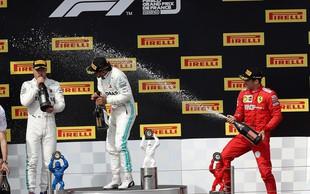Hamilton spet slavil - bo tako tudi na dirki za VN Avstrije?