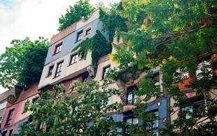 Na Dunaju z ozelenjevanjem fasad in nasadi novih dreves proti vročini